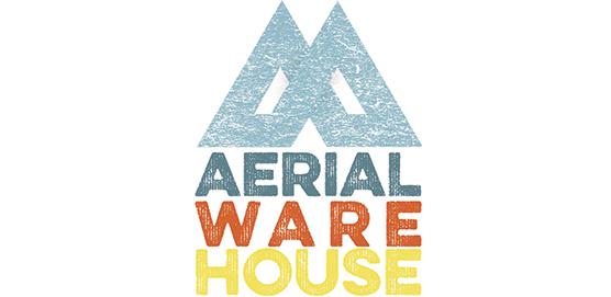 AERIAL WAREHOUSE combines the magic of Aerial Arts (aerial silk, hoop, trapeze, dance and more) with Action Arts, (climbing, parkour, trampoline, tumbling, air awareness).